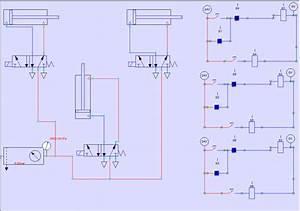Electronic Circuit Diagram Fig  7  Pneumatic Circuit