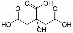 Citric Acid Formula