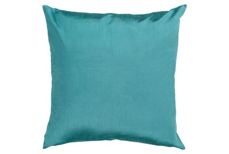 teal accent pillows accent pillow cade teal 22x22 living spaces
