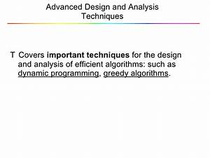 Lecture 8 Dynamic Programming