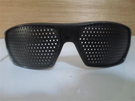 jual alat terapi kacamata lubang tp 06 pinhole glasses