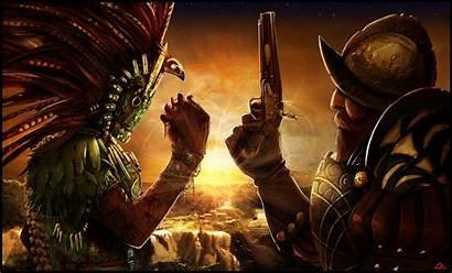 Unknown Aztec Warrior Computer Desktop Wallpapers Backgrounds