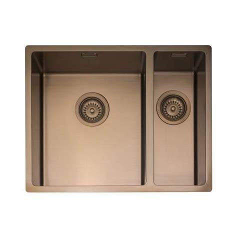 kitchen copper sinks caple mode 3415 1 5 bowl kitchen sink sinks taps 3415