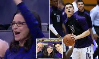 julia louis dreyfus cheers   basketball player son