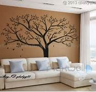 Wall Stickers Decoration Artistic Giant Family Tree Wall Sticker Vinyl Art Home Decals Room Decor Mural