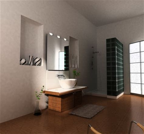 simple style bathroom  model downloadfreedcom
