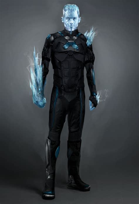 iceman future past days concept xmen ice marvel costume jubilee characters designs jr reveals movie cool armor apocalypse boutte phillip