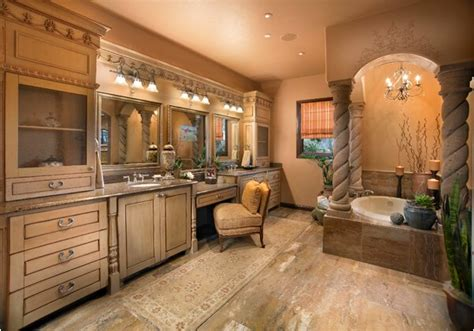 tuscan bathroom decor ideas what do you think of this 38 luxury tuscan bathroom design