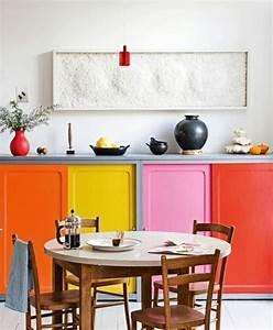 Küchenschränke Streichen Ideen : farbgestaltung in der k che bunte ideen f r mehr spa beim kochen ~ Eleganceandgraceweddings.com Haus und Dekorationen