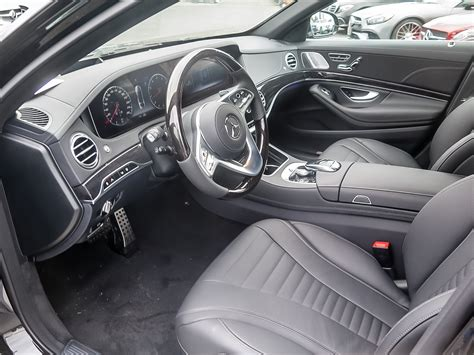 Features include standard heated seats and armrests, wireless phone charging, and rearview camera. New 2020 Mercedes-Benz S560 4MATIC Sedan (LWB) 4-Door Sedan in Kitchener #39440 | Mercedes-Benz ...