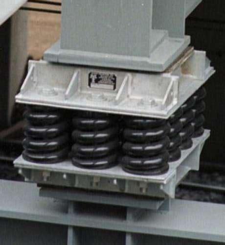 Spring Isolation Bearings   Mason UK   Acoustic Engineers
