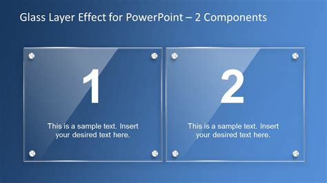 modern home layouts glass layer effect powerpoint template slidemodel