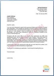 cover letter for resume fresh graduate covering letter exle january 2016
