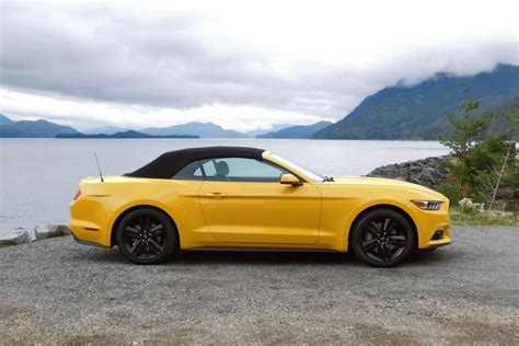 2015 Ford Mustang Ecoboost 0 60 Time