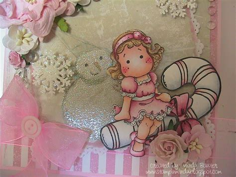 Mindy A Pink Card For Just Magnolia And Winter For Fussy