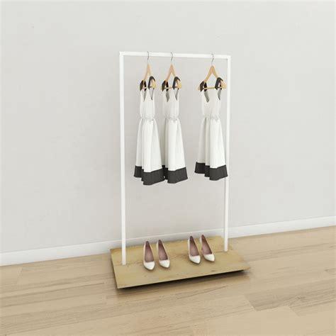 portant vetement portant professionnel en bois personnalisable design