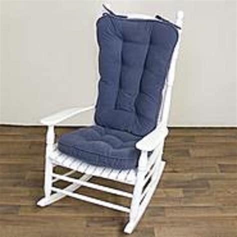 Rocking Chair Cushion Sets Sears by Greendale Home Fashions Hyatt Jumbo Rocking Chair Cushion