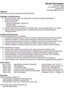 functional resume computer skills wendysle resume for someone seeking an administrative position using skills in desktop