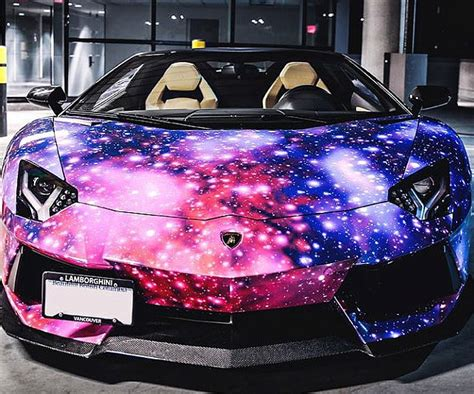 galaxy car paint solar system purple paint job page 2 pics about space