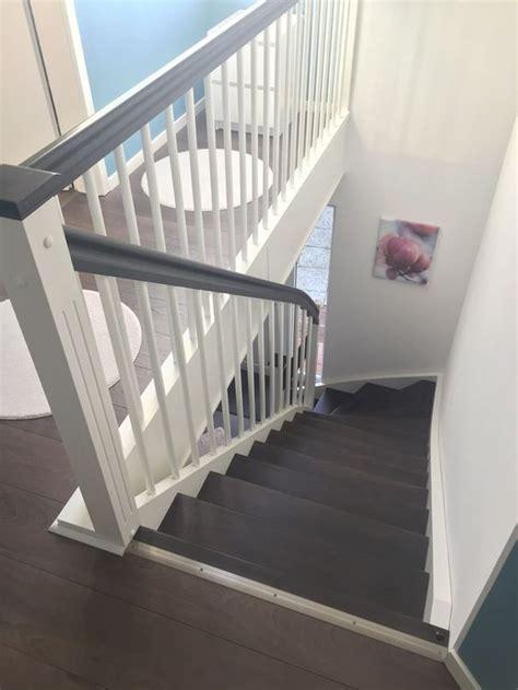 Treppengeländer Weiß Holz by Wangentreppe Unsere Innentreppe Mit Treppengel 228 Nder