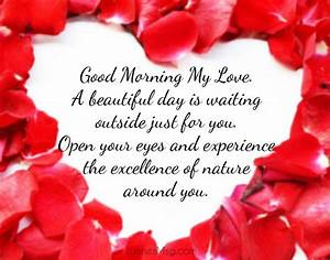 100+ Good Morning Love Messages - Romantic Wishes | WishesMsg