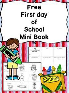 Preschool First Day of School Scavenger Hunt