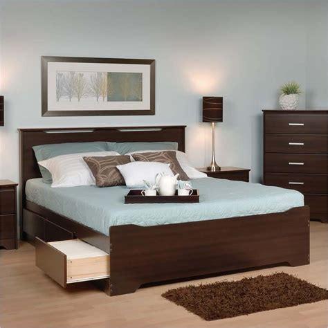 storage drawers queen size platform bed  storage drawers