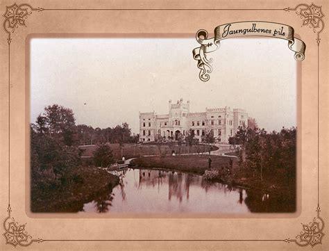 Jaungulbenes pils pirms 100 gadiem - Ceļveži.lv