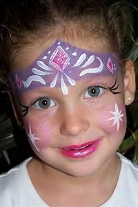 Karneval Gesicht Schminken : eisk nigin prinzessin elsa gesicht make up karneval kind kinder schminken kinderschminken ~ Frokenaadalensverden.com Haus und Dekorationen