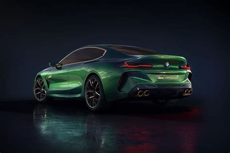 The New Bmw Concept M8 Gran Coupe