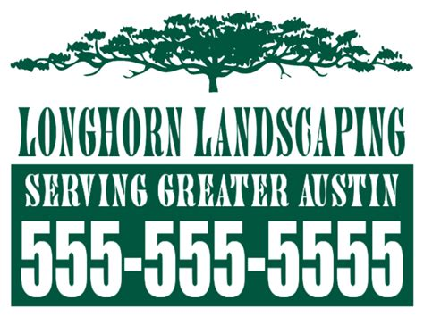 tree services signslawn care designslawn care yard sign