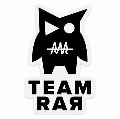 Rar Team Sticker Teamrar Official Decal Website