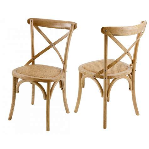 chaises de bistrot en rotin chaise bistrot