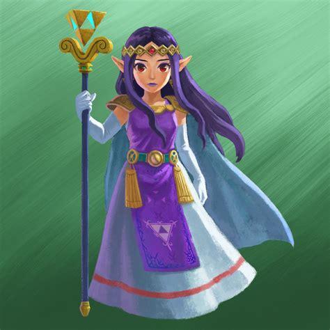 Legend Of Zelda Botw Wallpaper Games Flask Zelda A Link Between Worlds Trailer Hilda From Lorule And Zelda From Hyrule