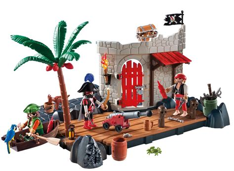 playmobil pirate fort superset  toy  mighty