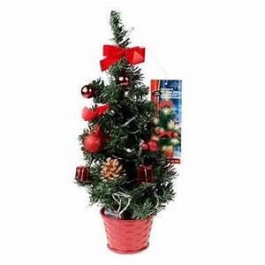 Kleine Led Lampjes : kleine kerstboom met verlichting rood kleine ~ Markanthonyermac.com Haus und Dekorationen
