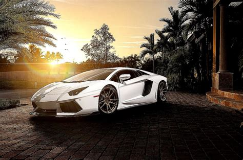Lamborghini Wallpaper Hd White Awesome City  Best Hd