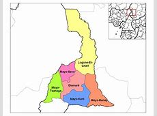 Far North Cameroon Divisions • Mapsofnet