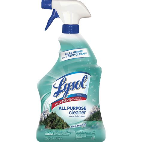 all purpose cleaner lysol fresh mountain all purpose cleaner ready to use