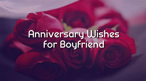 anniversary wishes  boyfriend romantic messages wishesmsg