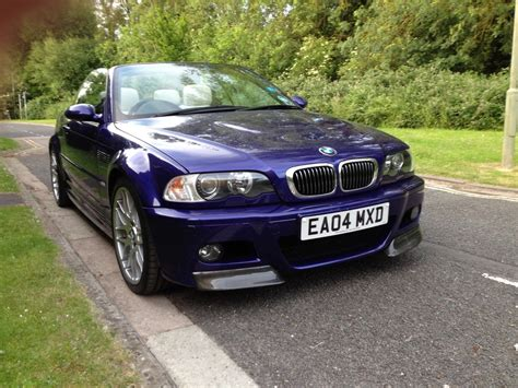 2004 Bmw E46 M3 Individual Convertible With Factory Fitted