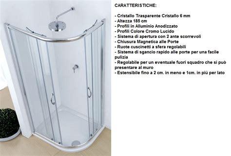 Piatto Doccia 70x90 Stondato by Piatto Doccia Marmo Resina Stondato 80x100 Asimmetrico