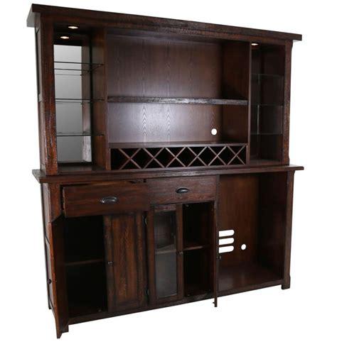 Back Bar Furniture by Gettysburg Back Bar W Hutch By Eci Furniture Furniturepick