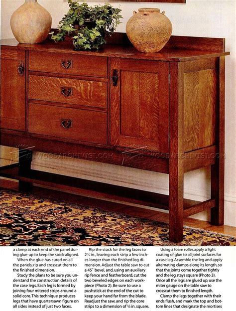 dining room furniture plans woodarchivist