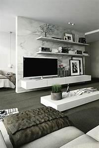 Wandgestaltung Im Wohnzimmer : 120 wohnzimmer wandgestaltung ideen moderne wohnzimmer wandregal und wandgestaltung ~ Sanjose-hotels-ca.com Haus und Dekorationen
