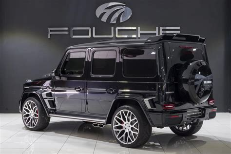 Like its counterpart at the rear, the brabus component at the front replaces the production bumper. Buy 2020 Mercedes-benz G-class G63 Brabus Widestar - for sale In Sandton, Gau | Fouche Motors