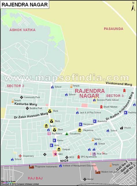 nagar rajendra map delhi locality maps mapsofindia