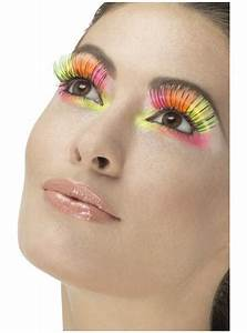 Women s neon multicolour eyelashes