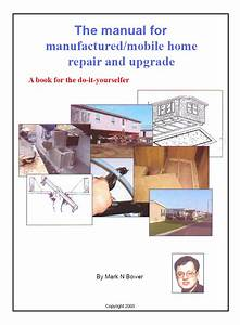 Manual For Mobile  Manufactured Home Repair  U0026 Upgrade