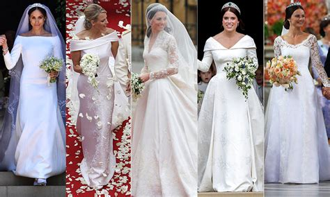royal wedding dresses   iconic gowns  history
